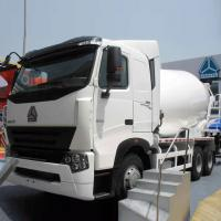 Buy cheap Sinotruck Concrete Mixing Equipment/ Cement Mixer Truck 10CBM 371HP 6X4 LHD from wholesalers
