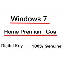 Buy cheap Online Windows 7 Home Premium Activation Key MS COA License Sticker from wholesalers