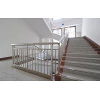 Buy cheap Indoor Brushed Stainless Steel Handrails For Stairs , Stainless Steel Banisters from wholesalers