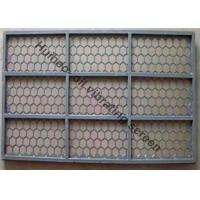 Buy cheap 695MM × 1050MM Oil Vibrating Screen With 2 -3 Layers Stainless Steel Woven Wire Mesh from wholesalers