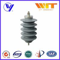 Buy cheap Lightning Protection Equipment Polymeric Metal Oxide Surge Arrester 10KA , 24KV product