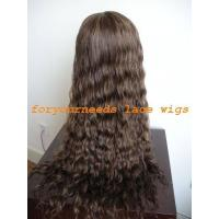 Buy cheap deep wave indian remy full lace wig from wholesalers