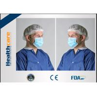 Buy cheap Blue Medical Earloop Disposable Face Mask Comfortable 4 Ply 2 Ply 3 Ply Light Weight from wholesalers