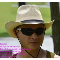 Buy cheap men western cowboy straw hats for summer from wholesalers