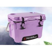 Buy cheap High performance rotomolding customized 15L purple cooler box Ice Box Insulated box Insulated container from wholesalers