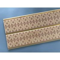 Buy cheap 10 Inch Water Resistant Bathroom Wall Panels With PVC Resin Material from wholesalers