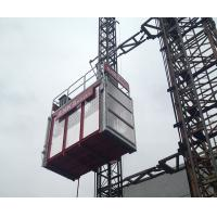 Buy cheap High Capacity 2000kg Building Hoist Construction Site Elevator With VFC System product