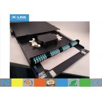 Buy cheap 48 Cores Telescoping 1U Optical Fiber Distribution Frame With  Two In / Out - Lets from wholesalers