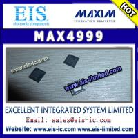 Buy cheap MAX4999 - MAXIM - Integrated Circuit, ADC, DAC - Email: sales015@eis-ic.com from wholesalers