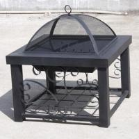Buy cheap Outdoor wood burning metal fireplace from wholesalers