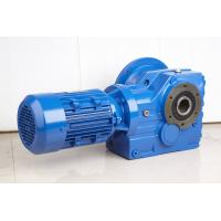 Buy cheap High Efficiency Helical Bevel Geared Motor Hollow Shaft Gearbox With IEC Or NEMA Motor from wholesalers