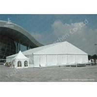 Buy cheap High Pressed Frame Clear Span Steel Buildings UV Repellent Double Coated PVC Fabric Cover from wholesalers