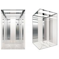 Buy cheap Mini Machine room elevator Max Multiple decoration of car and human care from wholesalers