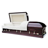 Buy cheap Best quality chinese funeral coffin, woodcasket from wholesalers