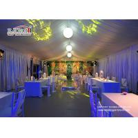 Buy cheap 25x60m Aluminum Structure Outdoor Event Tents With Interior Decoration from wholesalers