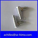Lemo 0B 5pin connector plug , FHG.0B.305.CLAD, 90 degree elbow plug,Medical connector plug 5 pin Reviews