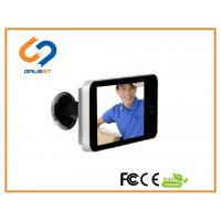 China 4.0 Inch LCD Peephole Viewer  / Smart Electronic Door Viewer Visual AA Battery on sale