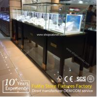 Buy cheap countertop glass jewelry display cabinet from wholesalers