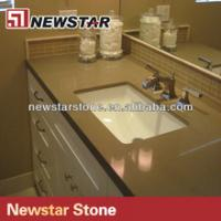 Buy cheap Newstar high quality quartz bathroom vanity countertops from wholesalers