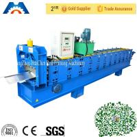 Buy cheap Galvanized Steel Ridge Cap Roll Forming Machine With 12 Rows rollers 45# steel from wholesalers