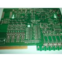 Buy cheap Gold FingerDouble Layer Custom PCB Boards Green Mask for Entrance Guard System from wholesalers