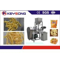 Buy cheap Kurkure Chips Cheetos Making Machine , Fried Corn Curls Food Extrusion Equipment from wholesalers