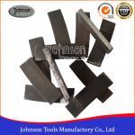 Buy cheap Segmented Bond Tool 500mm Saw Blade Diamond Cutting Sandstone Segment For Stone from wholesalers