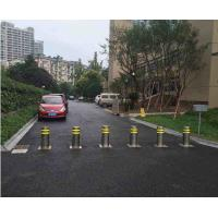 Buy cheap Road Safety Hydraulic Rising Bollards / Spray Coated Electric Retractable Bollards product