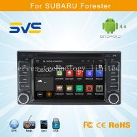 Buy cheap Android car dvd player GPS navigation for Subaru Forester car stereo with radio video 6.2 from wholesalers