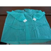 Buy cheap Blue Sms Pp Disposable Surgical Gowns Medical Protective With Round Neck from wholesalers