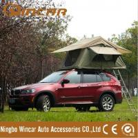 Buy cheap 4 x 4 waterproof polyester and ripstop canvas roof top tent from Ningbo Wincar from wholesalers