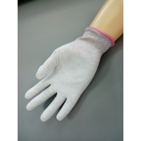 Buy cheap ESD PU Palm Coated 24cm Cleanroom Gloves Anti Static Skid from wholesalers
