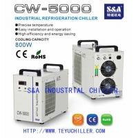 Buy cheap CNC engraving spindle water cooling chiller price from wholesalers