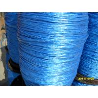 Buy cheap pp splitfilm line blue color from wholesalers