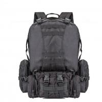 Buy cheap 55L Multi Function Sport Tactical Day Pack Water Resistant Camouflage For Hiking Camping from wholesalers