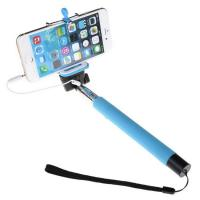 Buy cheap Customized wired selfie stick With dischargeable wrist strip from wholesalers