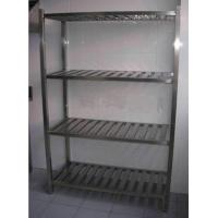 Buy cheap Durable Stainless Steel Display Racks for Supermarket / store / bakery from wholesalers
