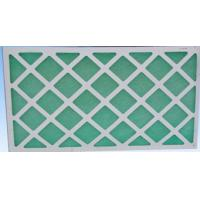 Buy cheap Primary Air Filtration Filters , Flat Panel Fiberglass Air Filters For Hvac from wholesalers