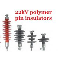 Buy cheap Composite Polymer Pin Transmission Line Insulators 22kv Creepage Distance 700mm from wholesalers
