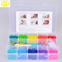 Buy cheap Funny Crazy Rainbow Loom Rubber Band for bracelet looming making friendship from wholesalers