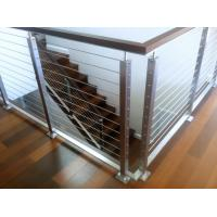 Buy cheap High Quality Modern Design Stainless Steel Balcony Wire Railing from wholesalers