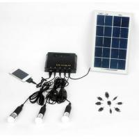 Buy cheap Hot-sale in Africa rechargeable New energy 4W DIY solar lighting home kits with 3 led light for 3 rooms lighting from wholesalers