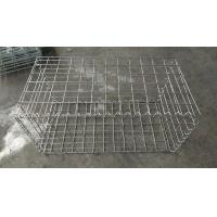 Buy cheap Welded Gabion Box / Gabion Mesh Cage With Spirals Locking Pins And Stiffener from wholesalers