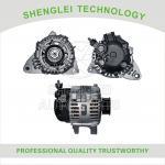 Buy cheap 3730037800 Aluminum Hyundai Car Alternator 12V 120A with Center Muffler from wholesalers
