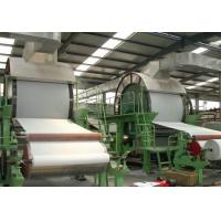 Buy cheap 5t/D Good Quality Waste Paper Recycling Rice Straw Toilet and Tissue Paper Machine from wholesalers