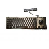 Buy cheap Panel Mount Cherry Metal Mechanical Keyboard With Trackball Pointing 65 Keys from wholesalers