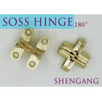 Buy cheap SOSS Mortise Mount Invisible Concealed Door Hinges With 4 Holes 2-3/4 Leaf Height 5/8 Leaf Width 23/32 from wholesalers