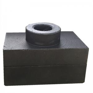 Buy cheap 75x75x45mm Unit Weight 2kgs Shredder Hammer Tips For Coal Industry product