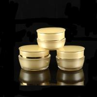 Buy cheap Nice Design Cosmetic Cream Jars And Bottles Acrylic Plastic Cosmetic Containers Premium Cosmetic Packaging from wholesalers