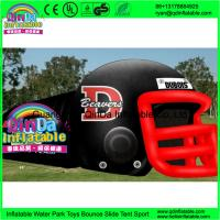 Buy cheap Giant outdoor used inflatable sports tunnel inflatable football helmet tunnel tent from wholesalers